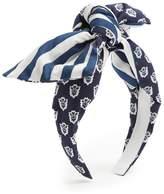 Benoit Missolin Laureto graphic-print cotton headband