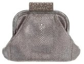 Chanel Embellished Galuchat Evening Bag