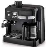 De'Longhi DeLonghi Combination Drip Coffee, Cappuccino and Espresso Machine with Programmable Timer - Black