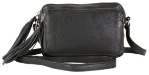 Hadaki Caroline's Piggy Back Genuine Leather Crossbody