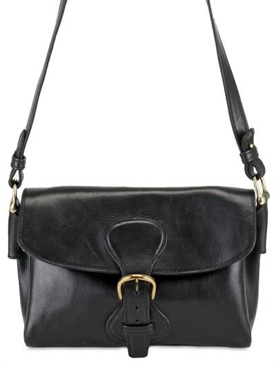 Saddlers Union Small Messenger Cow Leather Shoulder Bag