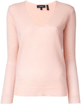 Theory V-neck jumper - women - Cashmere - L