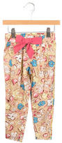 Little Marc Jacobs Girls' Floral Print Pants w/ Tags