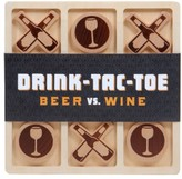 Chronicle Books Drink Tac Toe Beer Vs. Wine Game
