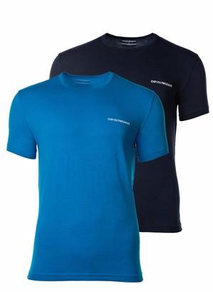 Emporio Armani Men's Multipack-Core Logoband 2-Pack T-Shirt