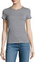 Theory Rodiona 2 Everyday Striped T-Shirt, Blue/White