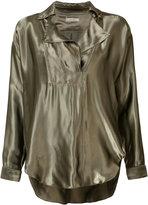 Nina Ricci metallic blouse