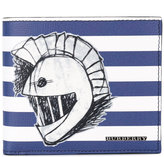 Burberry striped wallet - men - Leather - One Size