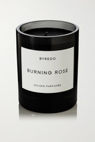 Byredo Burning Rose Scented Candle, 240g - Black