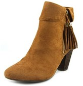 Report Moriah Women Round Toe Suede Brown Ankle Boot.