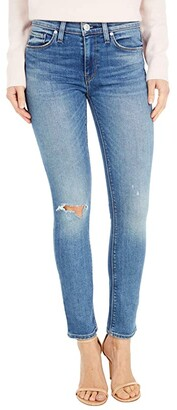 Hudson Nico Mid-Rise Skinny Ankle in Crave (Crave) Women's Jeans