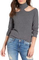 LnA Women's Franklin Cutout Sweater