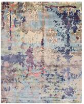 F.J. Kashanian Rain Hand-Knotted Wool Rug