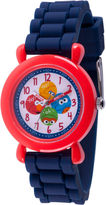 Sesame Street Boys Blue Strap Watch-Wss000041