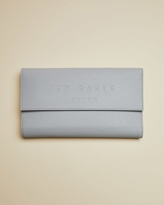 Ted Baker Debossed Branded Travel Wallet