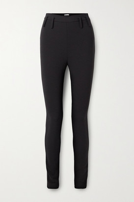 Magda Butrym Stretch-wool Skinny Pants - Black