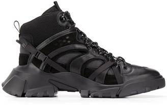 McQ Orbyt high-top trainers