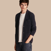 Burberry Wool Cashmere Knitted Jacket