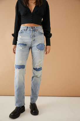 BDG Pax Vintage-Inspired Ripped Jeans
