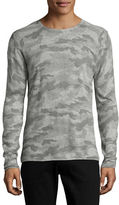 Strellson K-Neel-RP Camouflage Long Sleeve Top