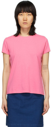 A.P.C. Pink Heather T-Shirt