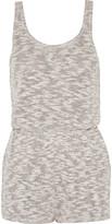 LnA Cotton-blend playsuit