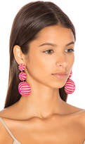 Mercedes Salazar Fiesta Tropical Earrings in Pink.