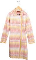 Missoni Girls' Patterned Reversible Coat w/ Tags