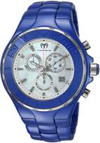 Technomarine Men's 'Cruise' Quartz Ceramic Casual Watch, Color:Blue (Model: TM-115321)