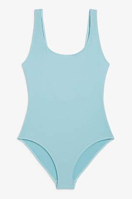 Monki Low back swimsuit