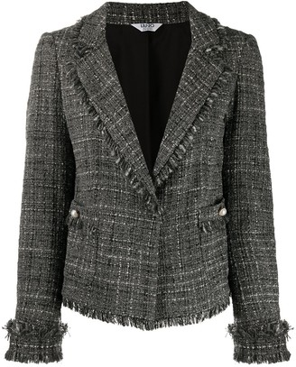 Liu Jo Single-Breasted Tweed Jacket