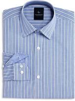 Tailorbyrd Boys' Micro Check & Stripe Shirt - Sizes 8-18