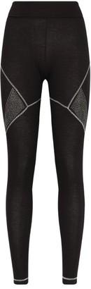S'No Queen Sequin-Embellished Whistler Sport Leggings