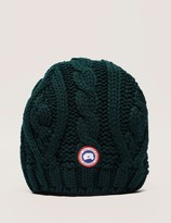 Canada Goose Cable Knit Beanie