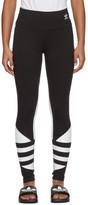 adidas Black LRG Logo Tight Leggings