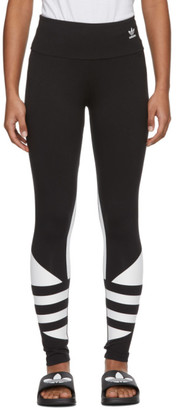 adidas Black LRG Logo Tight Leggings