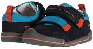 Keen Kids Sprout Double Strap (Toddler) (Dress Blues/Koi) Boy's Shoes
