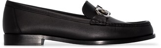 Salvatore Ferragamo Polo leather loafers