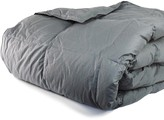 Melange Home 233 Thread Count Cotton Shell Cloud Down Alternative Comforter - Charcoal Grey