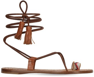 Etro 10mm Leather Sandals