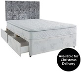 Airsprung Victoria Pillow Top Divan Bed - Medium Firm