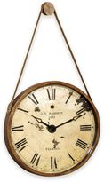 Bassett Mirror Company Watchman Oversized Wall Clock in Gold