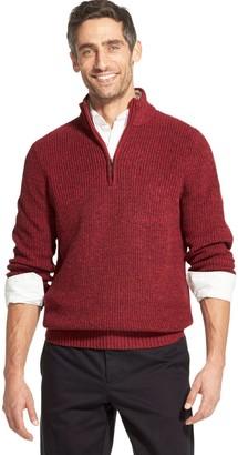 Izod Men's Sherpa-Collar Quarter-Zip Sweater