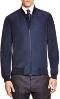 Hardy Amies Double Face Nylon Bomber