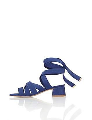 find. Women's Ankle Strap Heels Sandal Style Suede Strap Ties,5 UK