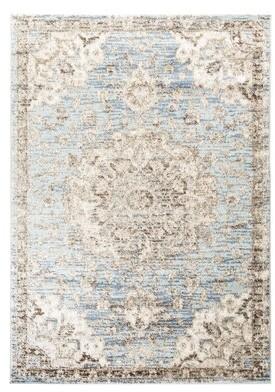 Blue Area Ophelia & Co. Gilcrease Oriental Light Rug Ophelia & Co. Rug Size: Runner 3' x 10'