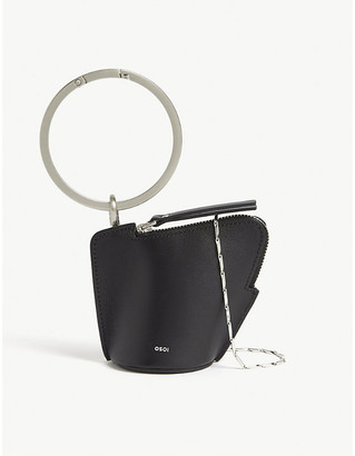 Selfridges Banglering leather three-in-one pouch