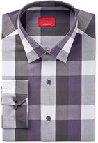 Alfani Slim Fit + Stretch Men's Purple Oversized Check Dress Shirt, Only at Macy's