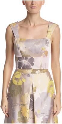 ABS by Allen Schwartz Women's Floral Printed Top
