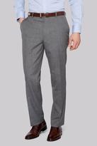 Moss Esq. Regular Fit Light Grey Check Pants